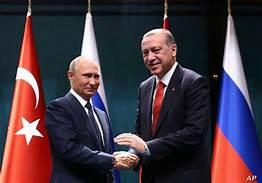 Russia, Turkey and United Arab Emirates